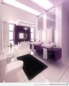 Purple Black And White Bathroom » New Home Design