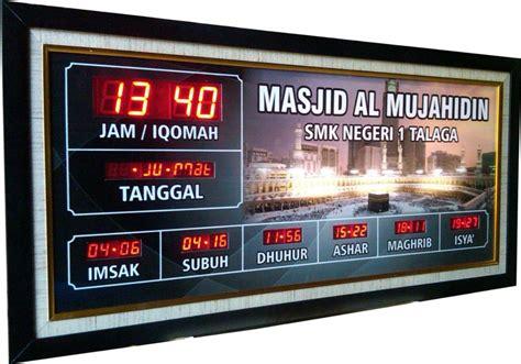 Jam Digital Masjid 13 harga jam digital elektro