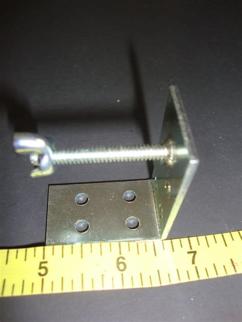 L Shade Nut by Small Shade L Quot Bracket With Wing Nut A K A New York Bracket Window Treatment Hardware