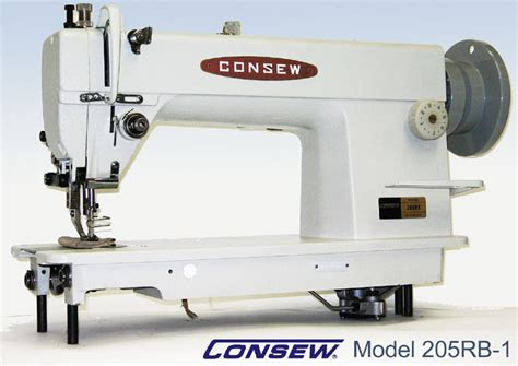 commercial upholstery sewing machine consew 205rb 1 heavy duty drop feed alternating presser