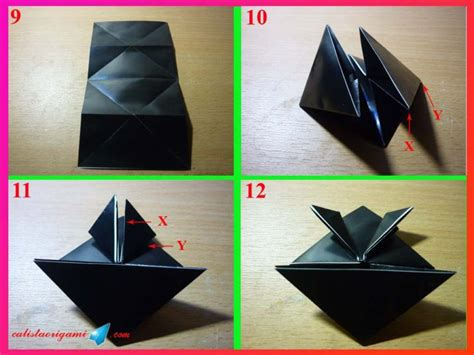 Katak Origami - cara membuat origami katak tegalan origami binatang