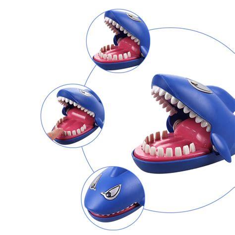 Crocodile Dentist Running Mainan Gigi Buaya permainan tantangan gigi hiu blue jakartanotebook