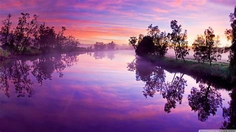 wallpaper wide river reflections hd wide