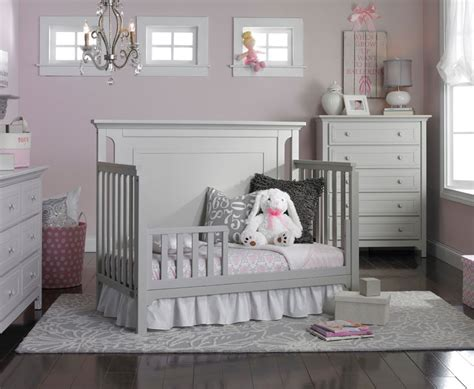 grey toddler bed carino nursery furniture collection tiamo