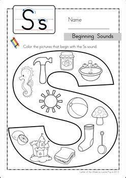 phonics for kindergarten grade k home workbook best 25 letter s worksheets ideas on