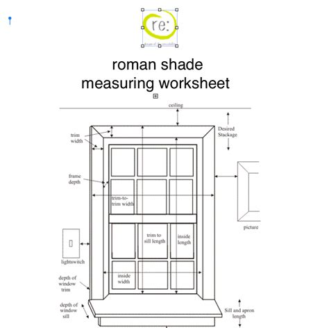 drapery measurement worksheet how to measure for window treatmentsrecreateyour