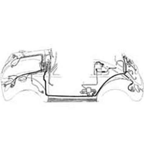 complete wiring harness 1956 1957