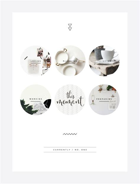 simple graphic design layout circle photographs and minimal background blog irene