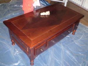 Comment Renover Une Table En Chene Vernie by Relooking Pas 224 Pas La Table De Carine Le De