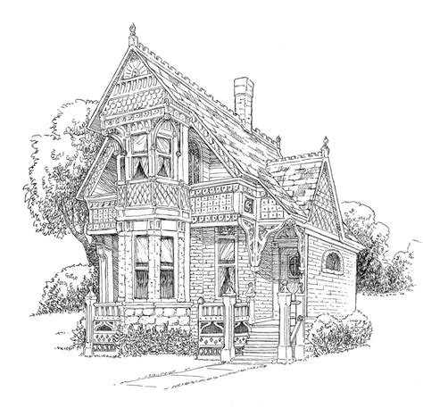 printable coloring pages for adults houses icolor quot architecture quot william a lang 1200x1159 icolor