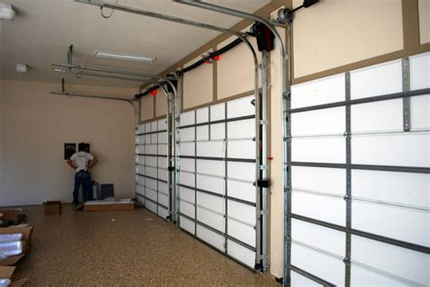 Wall Upholstery Track Systems Cowart Door Garage Door High Lift Traditional Garage