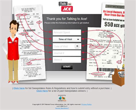 Ace Hardware Sweepstakes 2017 - www talktoace com ace hardware customer satisfaction survey