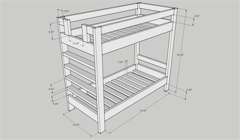 ideas loft bed woodworking plans using kreg jig diy simple woodworking