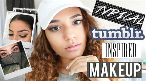 instagram tutorial tumblr typical tumblr inspired makeup tutorial youtube