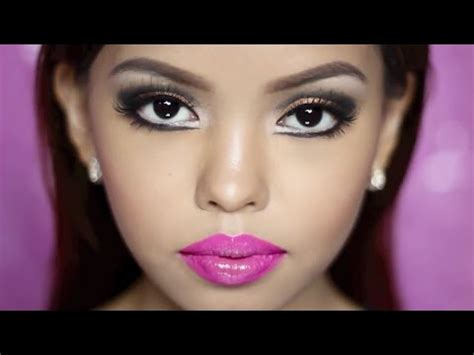 design doll to look like you how to look like a bratz doll makeup tutorial youtube