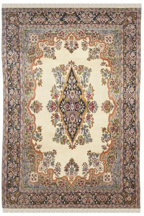 afghan rug prices kirman afghan carpet in ivory color and design at cheap price