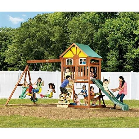 big backyard lexington wood gym set westvale wood gym set buy wood woods and toys r us