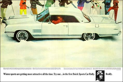1964 buick wildcat ad quot winter sports are getting more