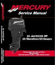 25hp 2 Stroke Mercury Ebay