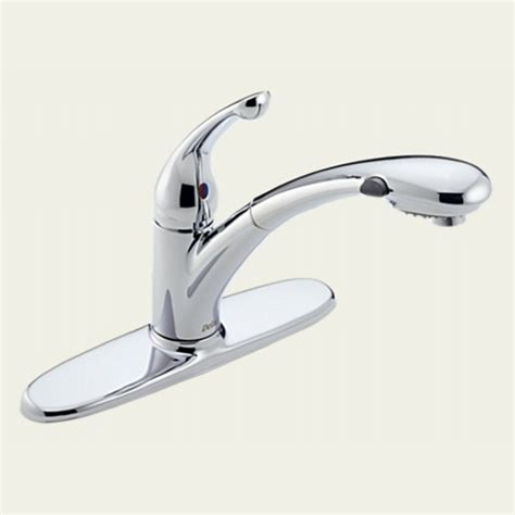 delta signature kitchen faucet delta faucet 470 dst signature one handle pull out spray