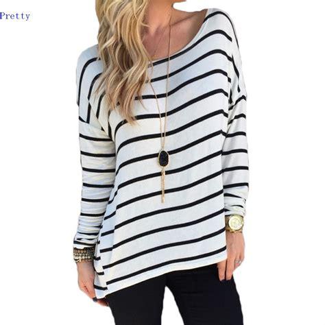 44012 Tropic Stripe Halter Top high style t shirt new black white