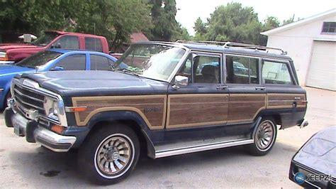 87 jeep grand wagoneer