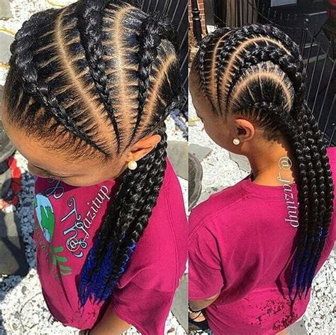 Goddess Braids For Kids | side goddess braids i have to love my hair pinterest