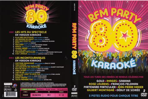 Dvd Karaoke jaquette dvd de rfm 80 karaoke cin 233 ma
