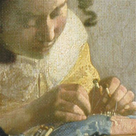 the lacemaker the lacemaker detail by johannes vermeer culture