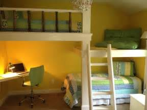 Childrens Bunk Bed With Desk Bunk Beds Desk And Platform Contemporary Atlanta By True Carpentry And Cabinetry