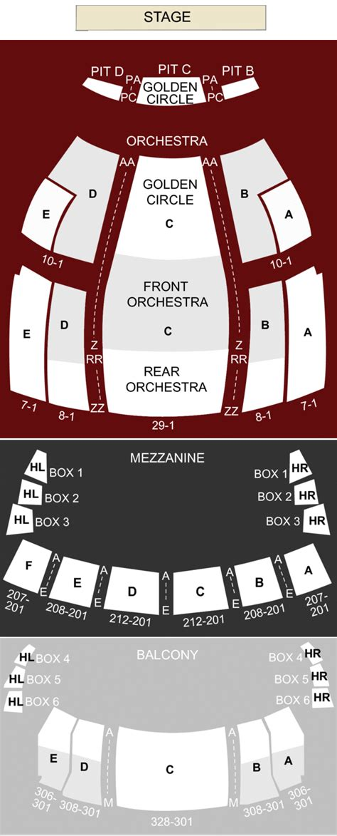 buell theater seating views buell theater denver co seating chart stage denver