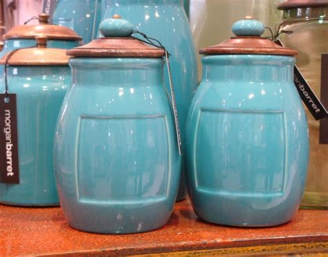 barret turquoise canisters kitchen quirks