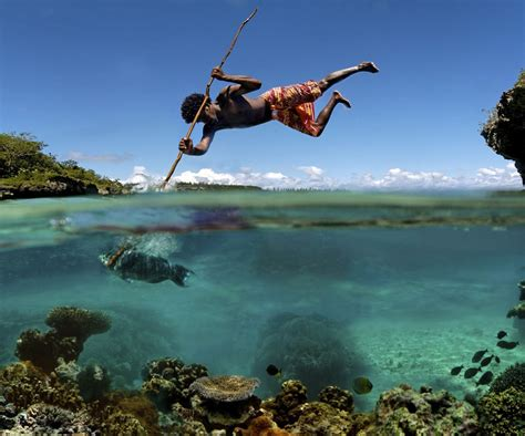 fishing with spear spear fishing an apocalyptic skill