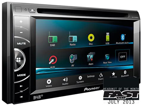 Pioneer Avh Z1050 Unit headunit of the month pioneer avh x3500dab fast car