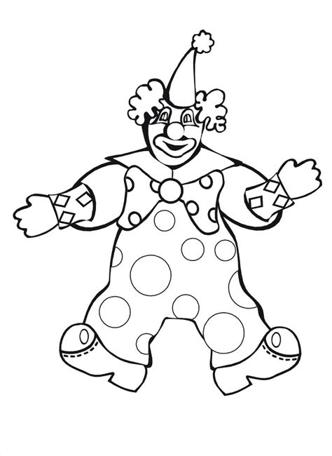 clown hat template clown hat page coloring pages