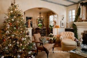 Shabby Chic Coffee Tables Uk - christmas tree traditional living room nashville by leland interiors llc