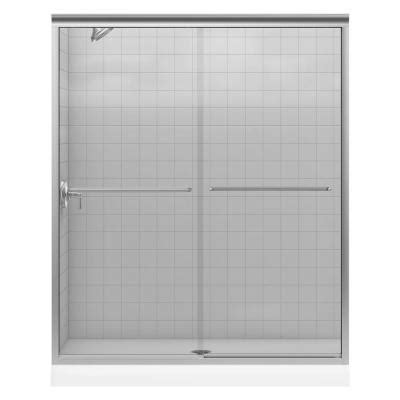 home depot shower doors kohler fluence 59 5 8 in x 70 5 16 in frameless sliding