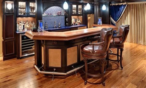 bar top design basement wood bar top designs blog