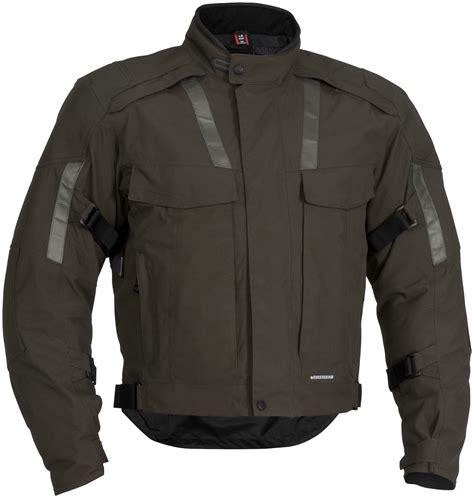 mens textile motorcycle jacket firstgear kenya mens textile motorcycle jacket olive