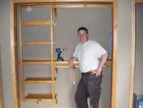 build your own closet shelves how to build a wardrobe closet plans home design ideas