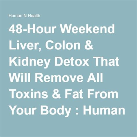 48 Hour Rapid Detox Ingredients by The World S Catalog Of Ideas