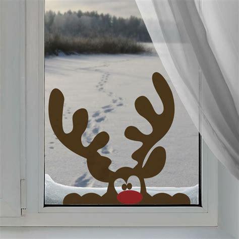 Fensterdeko Weihnachten Rentier by Fensterbilder Zu Weihnachten Ideen Mit Transparentpapier