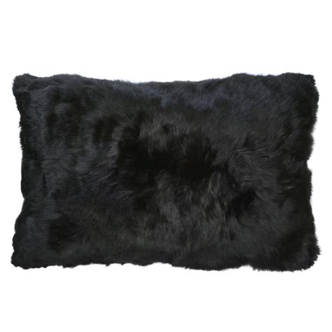 Alpaca Fur Pillows by Roberta Black Peruvian Alpaca Fur Pillow 12x20 Kathy