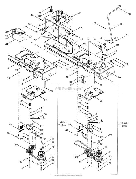 mtd 13bk608g062 2001 parts diagram for pto manual battery