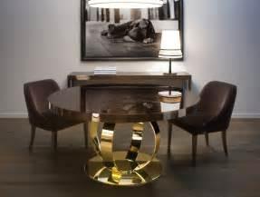 Luxury Dining Table Nella Vetrina Andrew Modern Italian Designer Wood Dining Table