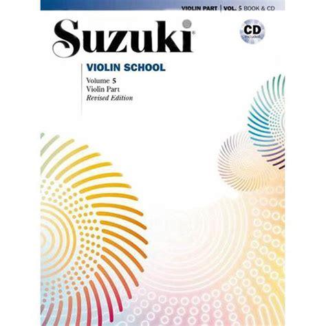 Suzuki Volume 5 Suzuki Violin School Method Book And Cd Volume 5 Shar