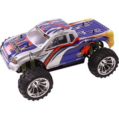 rc nitro monster truck 1 10 nitro rc monster truck mountain viper