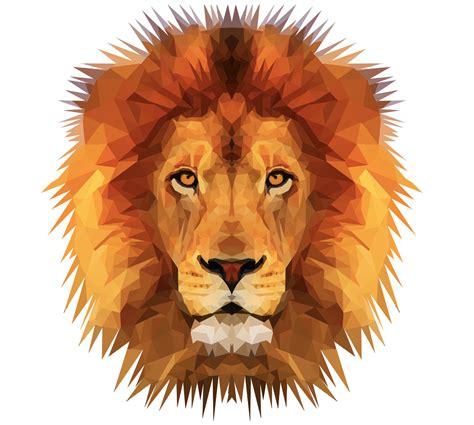 imagenes de leones tumblr emmasimoncic tumblr com low poly lion illustration