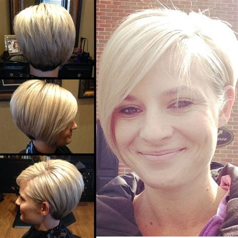 new bob short back sides long front long layered asymmetrical pixie by ccovey short hair