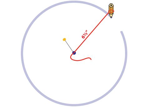 How To Draw A Circle With A Ruler make and measure a circle without a pattern sew4home